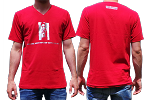 T-Shirt Zena Red Men Small
